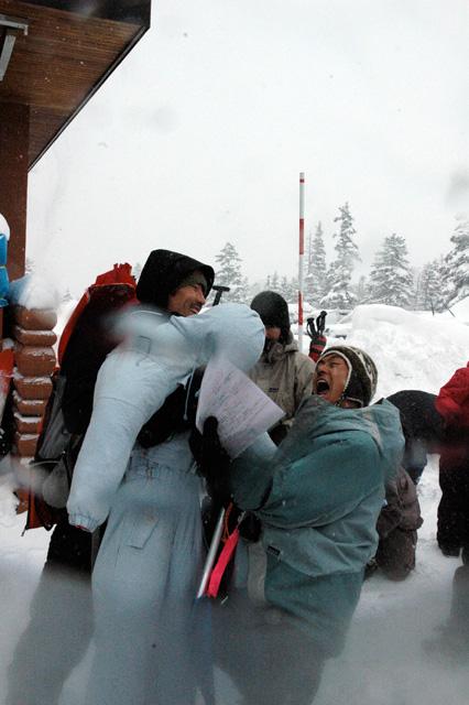セルフレスキュートレーニングの準備 埋没人形